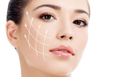 thermage treatment area face